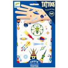 Djeco Tattoos Space Glow in the Dark