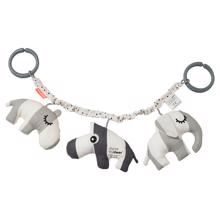 Done by Deer Pram Toy Deer Friends Grey