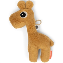 Done by Deer Tiny Sensory Rattle Raffi Mustard