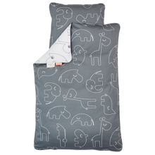 Done by Deer Bedlinen Sleepy Grey