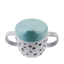 Done by Deer Yummy Happy Dots Spout Cup Blue
