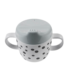 Done by Deer Yummy Happy Dots Spout Cup Grey
