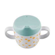 Done by Deer Yummy Happy Dots Spout Cup Gold/Blue