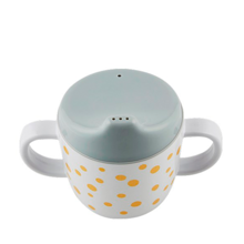 Done by Deer Yummy Happy Dots Spout Cup Gold/Grey