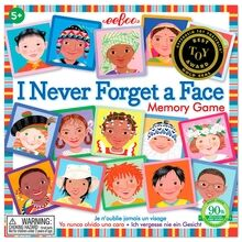 Eeboo Memory Game - I Never Forget A Face