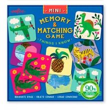 Eeboo Miniature Memory Game - Things I Know