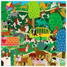 Eeboo Puzzle 1000 Pieces - Dogs in the Park
