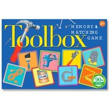 Eeboo Travel Game - Memory Game w. Tools