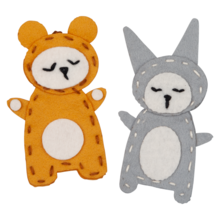 Fabelab Charm Craft Bear and Bunny