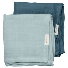 Fabelab Muslin Cloth 2-pack Sea