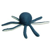 Fabelab Soft Rattle Octopus Blue Spruce
