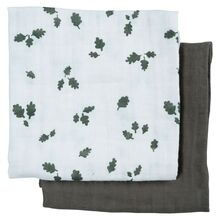 Fabelab Muslin Cloth 2-pack Oak Leaf