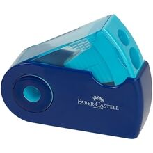 Faber Castell Double Hole Sharpener Blue
