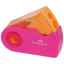 Faber Castell Double Hole Sharpener Pink