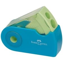 Faber Castell Double Hole Sharpener Turquoise