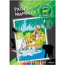 Faber Castell Paint By Numbers Dangerous Animals