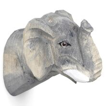 Ferm Living Hand Carved Hook Elephant
