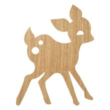 Ferm Living My Deer Lamp Oiled Oak