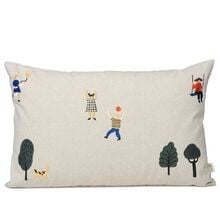 Ferm Living The Park Cushion with Pillow Natural