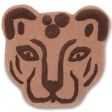 Ferm Living Leopard Head Tufted Rug