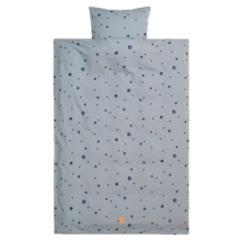 Ferm Living Bedding Moon Faded Blue
