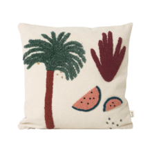 Ferm Living Palm Cushion with Pillow