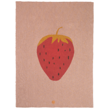 Ferm Living Blanket Strawberry
