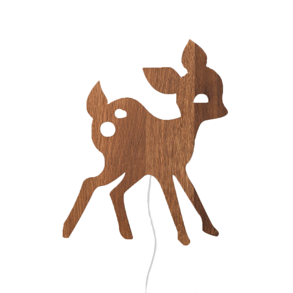 Ferm Living My Deer Lamp Smoked Oak