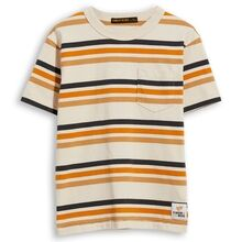 Finger In The Nose Kid Crew Neck T-shirt Sand Stripes