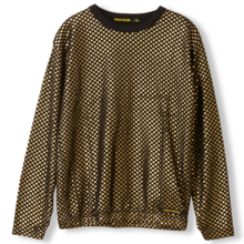 Finger In The Nose Mikki Gold Metal Checkers LS Jersey T-shirt