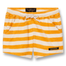 Finger In The Nose Trinity Knitted Mini Shorts Mandarin Stripes