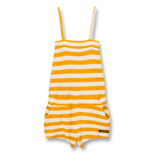 Finger In The Nose Liv Knitted Sleeveless Short Overall Mandarin Stripes