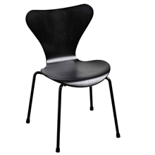 Fritz Hansen 7 Children's Chair Black