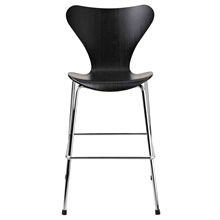 Fritz Hansen 7 Children's Chair Black Ash