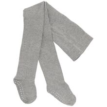 GObabyGO Antislip Tights Grey Melange
