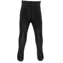GObabyGO Crawling Tights Dark Grey