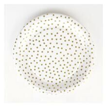 My Little Day 8 Paper plates (golden stars)