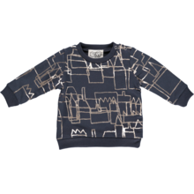 GRO Hidden City Sweatshirt Dark washed