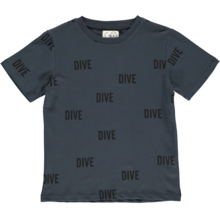 GRO Dark Washed Tee Dive, Dive, Dive