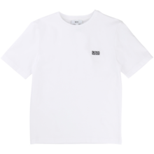 Hugo Boss Boy Tee Short Sleeves White
