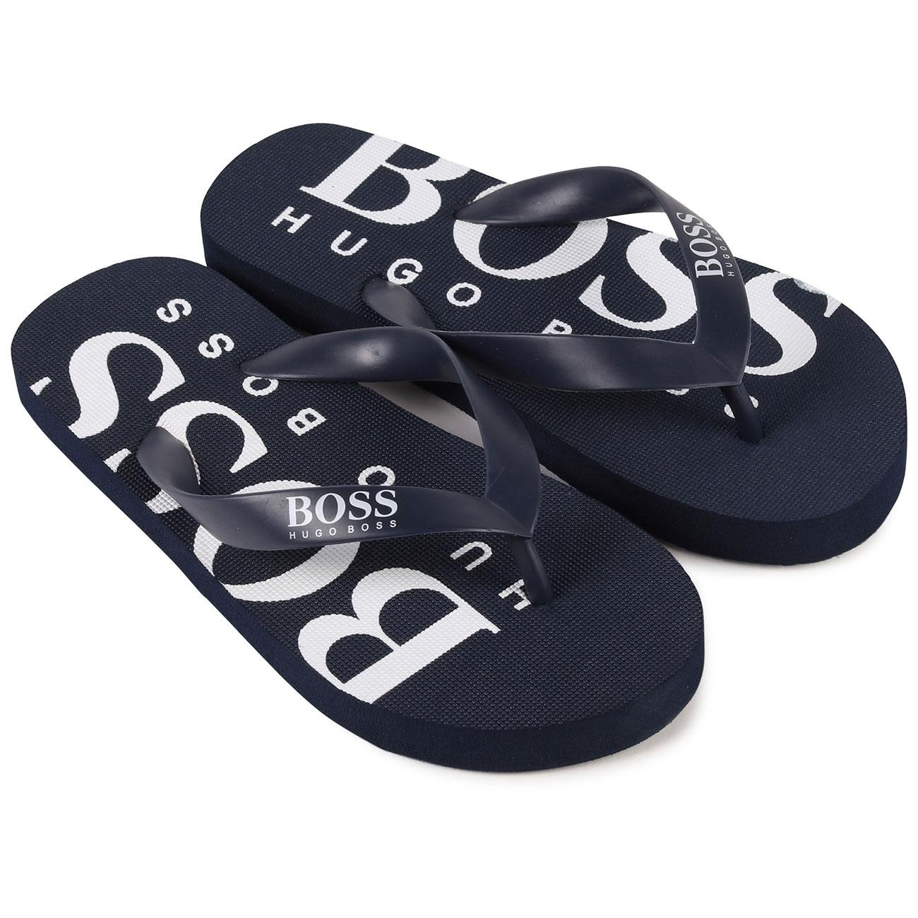 hugo boss flip flops