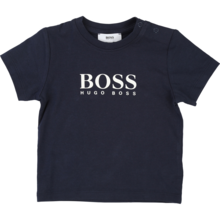 Hugo Boss Baby Boy Short Sleeves T-Shirt Navy