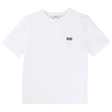 Hugo Boss Baby Boy Short Sleeves T-Shirt White