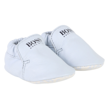 Hugo Boss Baby Boy Slippers Pale Blue