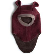 Huttelihut Balaclava Wine Wool Ears Limited Edition
