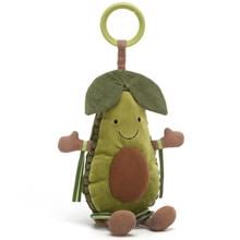 Jellycat Amuseable Avocado Activity Rattle 25 cm