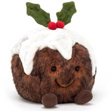 Jellycat Amuseable Christmas Pudding 14 cm