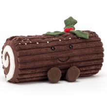 Jellycat Amuseable Christmas Roulade 21 cm