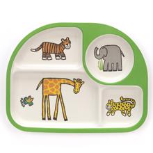 Jellycat Bamboo Plate Jungle Friends