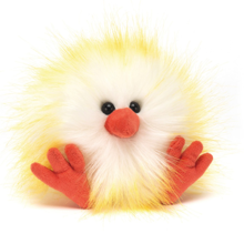 Jellycat Crazy Chick Yellow/White 11cm